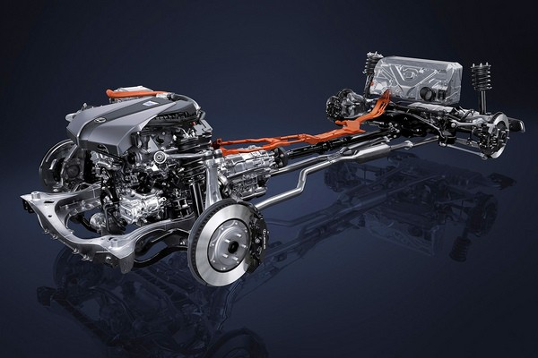 Lexus LC 500h hybrid