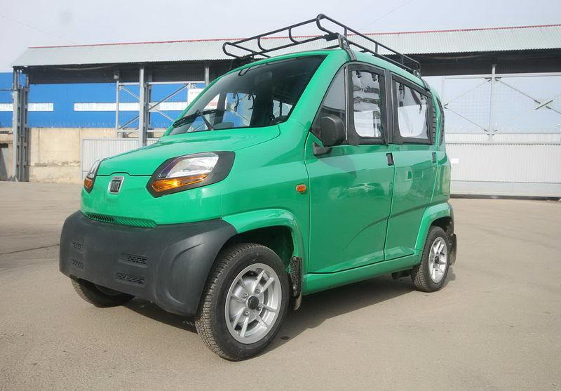 Bajaj Qute – автомобил за бизнеса